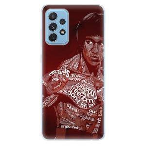 Odolné silikonové pouzdro iSaprio - Bruce Lee na mobil Samsung Galaxy A72
