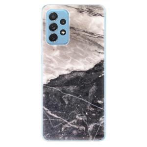 Odolné silikonové pouzdro iSaprio - BW Marble na mobil Samsung Galaxy A72