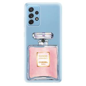 Odolné silikonové pouzdro iSaprio - Chanel Rose na mobil Samsung Galaxy A72