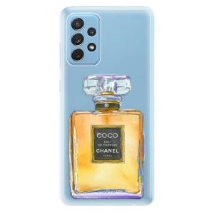 Odolné silikonové pouzdro iSaprio - Chanel Gold na mobil Samsung Galaxy A72