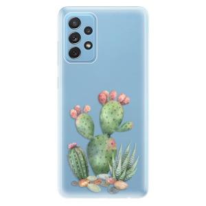 Odolné silikonové pouzdro iSaprio - Cacti 01 na mobil Samsung Galaxy A72