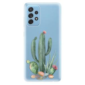 Odolné silikonové pouzdro iSaprio - Cacti 02 na mobil Samsung Galaxy A72