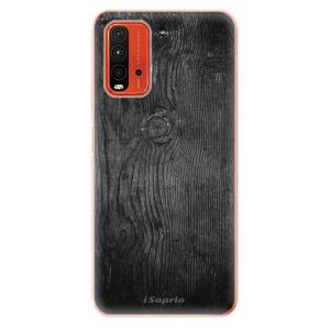 Odolné silikonové pouzdro iSaprio - Black Wood 13 na mobil Xiaomi Redmi 9T / Xiaomi Poco M3