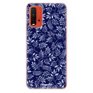 Odolné silikonové pouzdro iSaprio - Blue Leaves 05 na mobil Xiaomi Redmi 9T / Xiaomi Poco M3