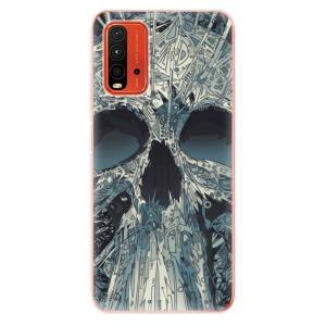 Odolné silikonové pouzdro iSaprio - Abstract Skull na mobil Xiaomi Redmi 9T / Xiaomi Poco M3