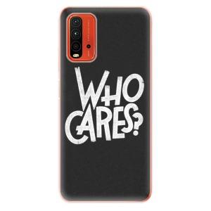 Odolné silikonové pouzdro iSaprio - Who Cares na mobil Xiaomi Redmi 9T / Xiaomi Poco M3