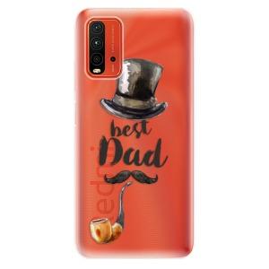 Odolné silikonové pouzdro iSaprio - Best Dad na mobil Xiaomi Redmi 9T / Xiaomi Poco M3