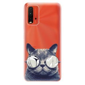 Odolné silikonové pouzdro iSaprio - Crazy Cat 01 na mobil Xiaomi Redmi 9T / Xiaomi Poco M3