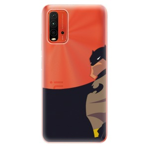 Odolné silikonové pouzdro iSaprio - BaT Comics na mobil Xiaomi Redmi 9T / Xiaomi Poco M3