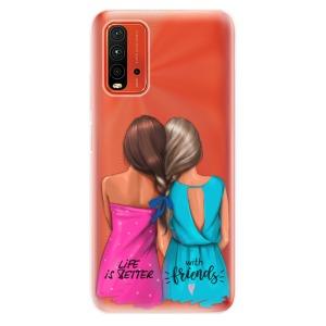 Odolné silikonové pouzdro iSaprio - Best Friends na mobil Xiaomi Redmi 9T / Xiaomi Poco M3