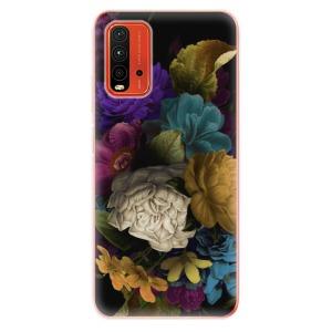 Odolné silikonové pouzdro iSaprio - Dark Flowers na mobil Xiaomi Redmi 9T / Xiaomi Poco M3