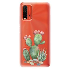 Odolné silikonové pouzdro iSaprio - Cacti 01 na mobil Xiaomi Redmi 9T / Xiaomi Poco M3