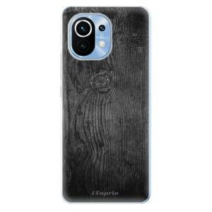 Odolné silikonové pouzdro iSaprio - Black Wood 13 na mobil Xiaomi Mi 11