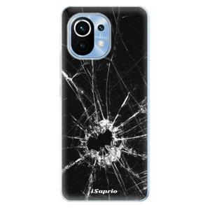 Odolné silikonové pouzdro iSaprio - Broken Glass 10 na mobil Xiaomi Mi 11