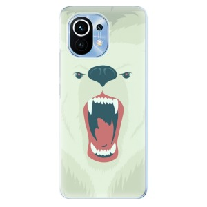 Odolné silikonové pouzdro iSaprio - Angry Bear na mobil Xiaomi Mi 11