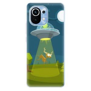 Odolné silikonové pouzdro iSaprio - Alien 01 na mobil Xiaomi Mi 11