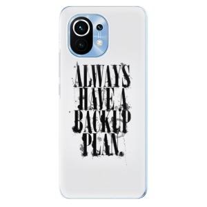 Odolné silikonové pouzdro iSaprio - Backup Plan na mobil Xiaomi Mi 11