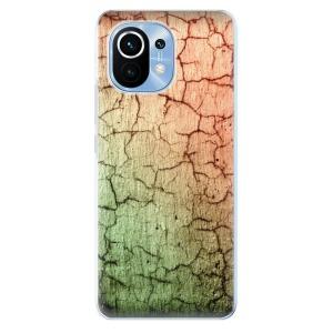 Odolné silikonové pouzdro iSaprio - Cracked Wall 01 na mobil Xiaomi Mi 11