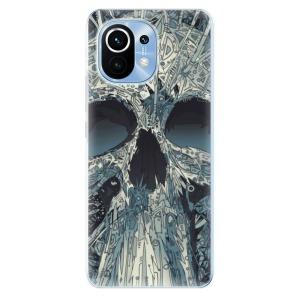 Odolné silikonové pouzdro iSaprio - Abstract Skull na mobil Xiaomi Mi 11