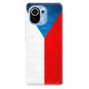 Odolné silikonové pouzdro iSaprio - Czech Flag na mobil Xiaomi Mi 11