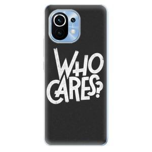 Odolné silikonové pouzdro iSaprio - Who Cares na mobil Xiaomi Mi 11