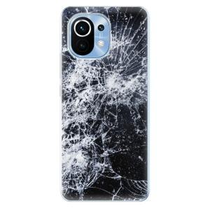 Odolné silikonové pouzdro iSaprio - Cracked na mobil Xiaomi Mi 11