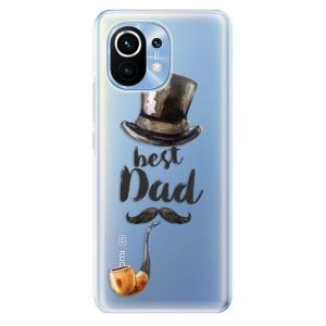 Odolné silikonové pouzdro iSaprio - Best Dad na mobil Xiaomi Mi 11