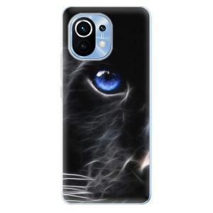 Odolné silikonové pouzdro iSaprio - Black Puma na mobil Xiaomi Mi 11