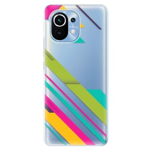 Odolné silikonové pouzdro iSaprio - Color Stripes 03 na mobil Xiaomi Mi 11