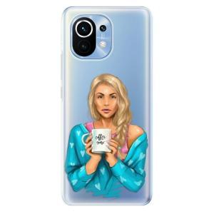 Odolné silikonové pouzdro iSaprio - Coffe Now - Blond na mobil Xiaomi Mi 11