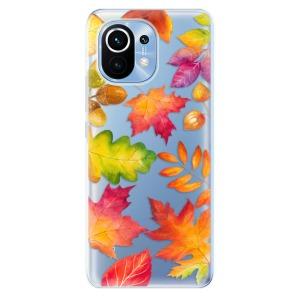 Odolné silikonové pouzdro iSaprio - Autumn Leaves 01 na mobil Xiaomi Mi 11