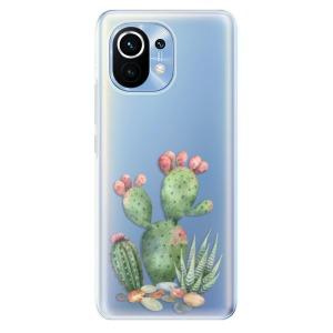 Odolné silikonové pouzdro iSaprio - Cacti 01 na mobil Xiaomi Mi 11