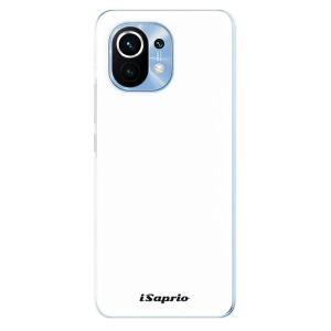 Odolné silikonové pouzdro iSaprio - 4Pure - bílé na mobil Xiaomi Mi 11