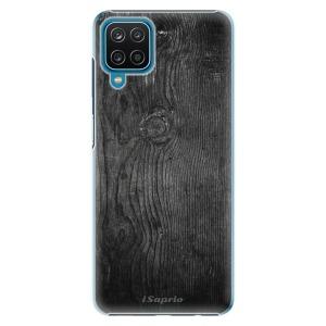 Plastové pouzdro iSaprio - Black Wood 13 na mobil Samsung Galaxy A12