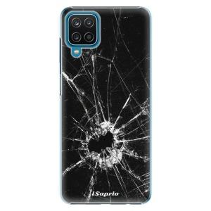 Plastové pouzdro iSaprio - Broken Glass 10 na mobil Samsung Galaxy A12