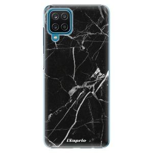 Plastové pouzdro iSaprio - Black Marble 18 na mobil Samsung Galaxy A12