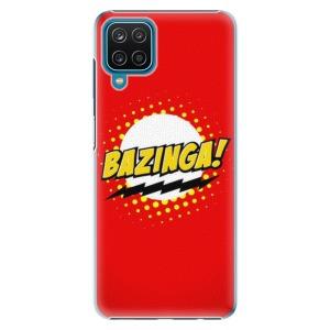 Plastové pouzdro iSaprio - Bazinga 01 na mobil Samsung Galaxy A12
