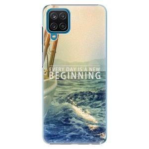 Plastové pouzdro iSaprio - Beginning na mobil Samsung Galaxy A12