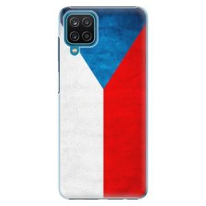 Plastové pouzdro iSaprio - Czech Flag na mobil Samsung Galaxy A12