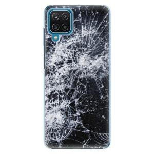Plastové pouzdro iSaprio - Cracked na mobil Samsung Galaxy A12