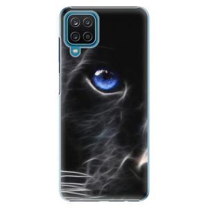 Plastové pouzdro iSaprio - Black Puma na mobil Samsung Galaxy A12