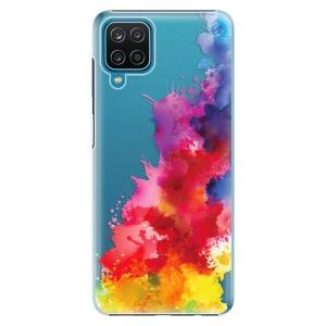 Plastové pouzdro iSaprio - Color Splash 01 na mobil Samsung Galaxy A12