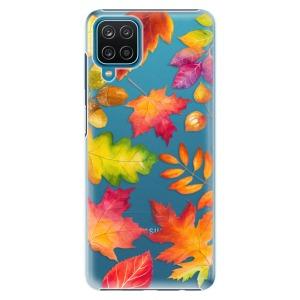 Plastové pouzdro iSaprio - Autumn Leaves 01 na mobil Samsung Galaxy A12