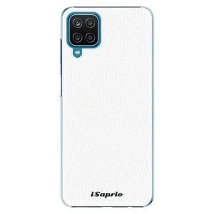 Plastové pouzdro iSaprio - 4Pure - bílé na mobil Samsung Galaxy A12