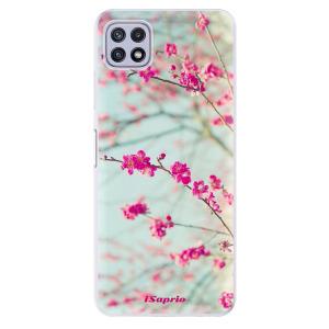 Odolné silikonové pouzdro iSaprio - Blossom 01 na mobil Samsung Galaxy A22 5G
