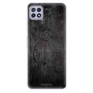 Odolné silikonové pouzdro iSaprio - Black Wood 13 na mobil Samsung Galaxy A22 5G