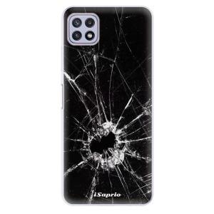 Odolné silikonové pouzdro iSaprio - Broken Glass 10 na mobil Samsung Galaxy A22 5G