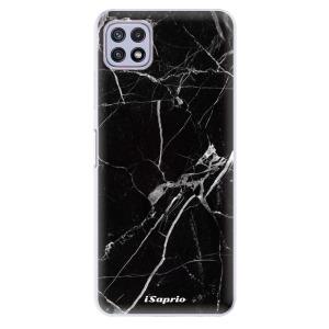 Odolné silikonové pouzdro iSaprio - Black Marble 18 na mobil Samsung Galaxy A22 5G