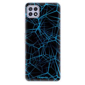 Odolné silikonové pouzdro iSaprio - Abstract Outlines 12 na mobil Samsung Galaxy A22 5G