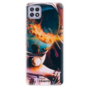 Odolné silikonové pouzdro iSaprio - Astronaut 01 na mobil Samsung Galaxy A22 5G